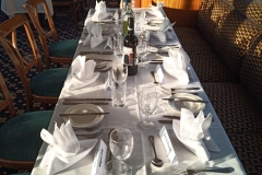 Table Laid for Formal Dining